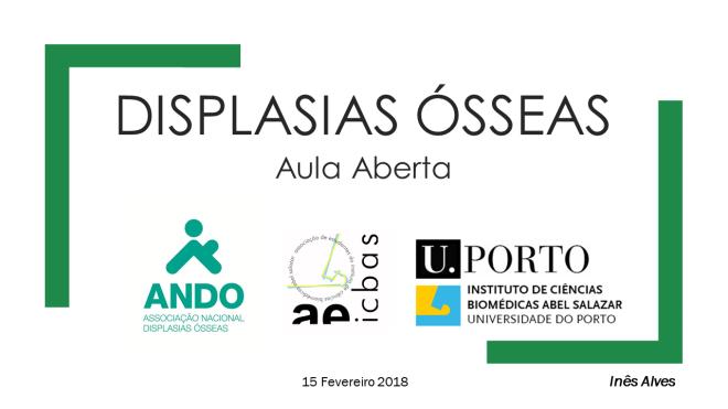 Aula Aberta ICBAS abertura fevereiro 2018
