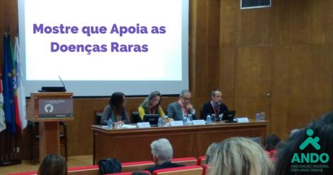 Mostre que apoia as doenças raras dia das doenças raras 2018 aliança portuguesa de associações das doenças raras