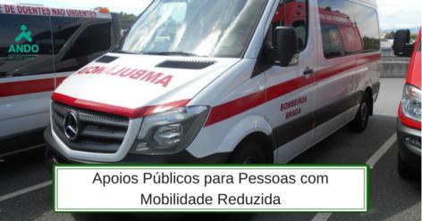 Apoios públicos para pessoas com mobilidade reduzida