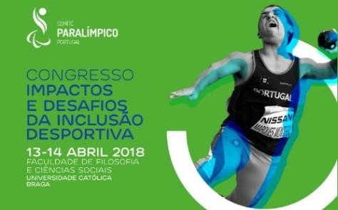 Congresso impactos e desafios da inclusão desportiva Miguel Monteiro