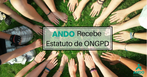 ANDO recebe estatuto de ongpd do INR