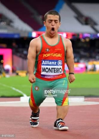 Miguel, em prova, nos Jogos Paralímpicos de 2016. Foto: MikeHewitt/Getty Images